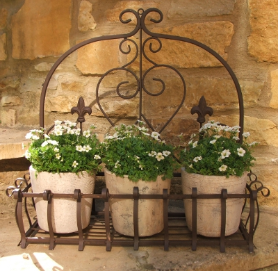 Large Metal Wall Planter
