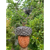 Acorn Bird Feeder with Wren S Hook