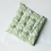 Seat Pad Green Fern