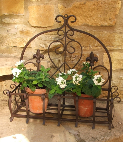Small Brown Wall Planter