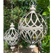 Orb Planter on Chain - Small