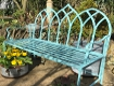 Gothic Turquoise Bench