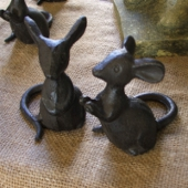 Cast Iron Mice
